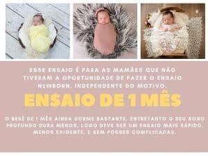 ensaio do bebê recem nascido de 1 mes fotografo newborn