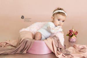 Acompanhamento do BebêBH Betim e região – Valentina 5 mêses