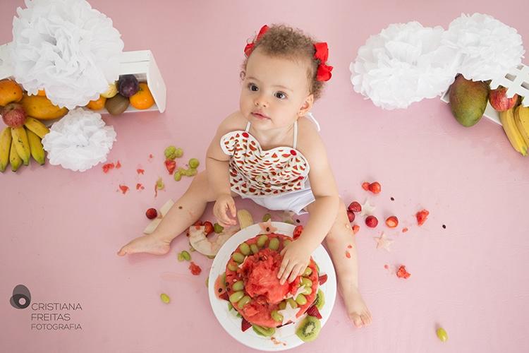 smash the fruit fotografia infantil